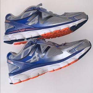 New Balance 1080 V5 sneakers US10 Gray/blue